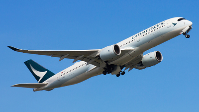 B-LRG - Airbus A350-941 - Cathay Pacific Airways