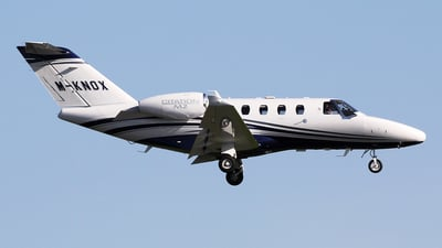 M-KNOX - Cessna Citation M2 - Private