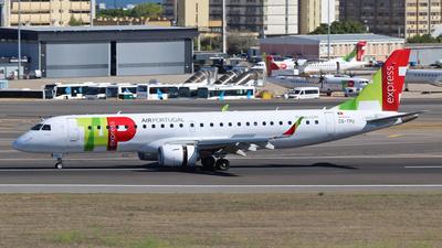 A picture of CSTPU - Embraer E190LR - TAP Air Portugal - © José Manuel Gonçalves