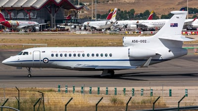 A56-002 - Dassault Falcon 7X - Australia - Royal Australian Air Force (RAAF)