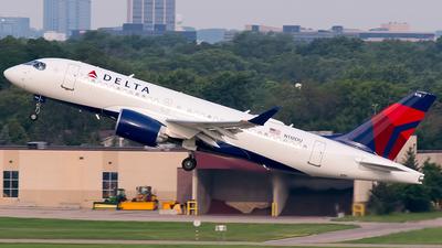 N118DU - Airbus A220-100 - Delta Air Lines