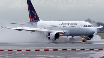 OO-SSQ - Airbus A319-112 - Brussels Airlines
