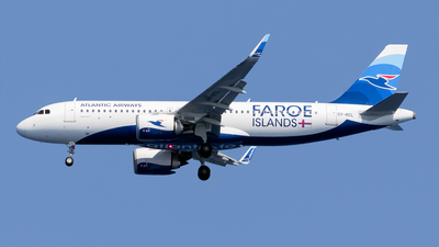 A picture of OYRCL - Airbus A320251N - Atlantic Airways - © Kris Van Craenenbroeck