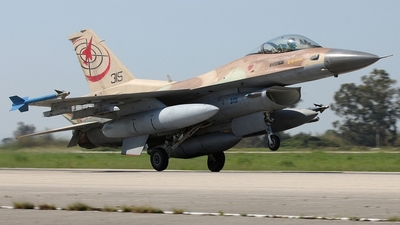 315 - Lockheed Martin F-16C Barak - Israel - Air Force