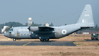 4159 - Lockheed C-130E Hercules - Pakistan - Air Force