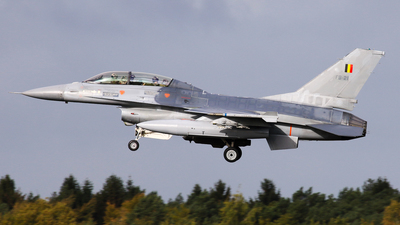 FB-21 - General Dynamics F-16BM Fighting Falcon - Belgium - Air Force