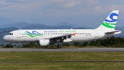 XU-701 - Airbus A320-212 - Skywings Asia Airlines