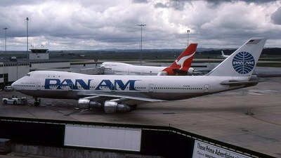 N737PA - Boeing 747-121 - Pan Am