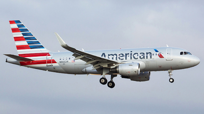 N90024 - Airbus A319-115 - American Airlines