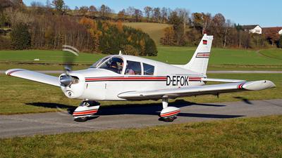 D-EFOK - Piper PA-28-140 Cherokee C - Private