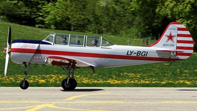 LY-BGI - Yakovlev Yak-52 - Private