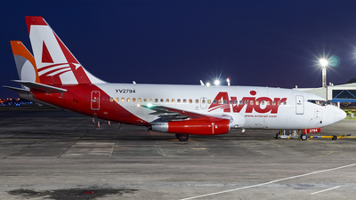 A picture of YV2794 - Boeing 737232(A) - Avior Airlines - © Renato Maia