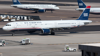 N162UW - Airbus A321-211 - US Airways