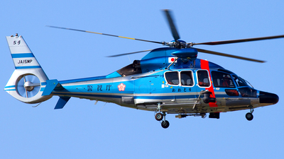 JA15MP - Airbus Helicopters EC155 B1 Dauphin - Japan - Police