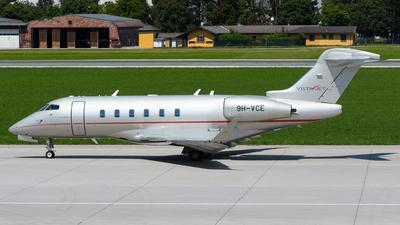 9H-VCE - Bombardier BD-100-1A10 Challenger 350 - VistaJet