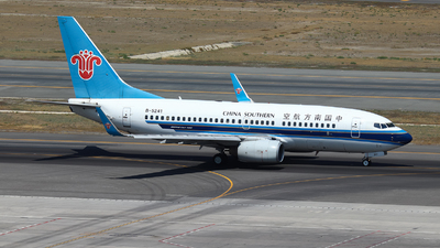 A picture of B5241 - Boeing 73771B - China Southern Airlines - © BillyLIAO