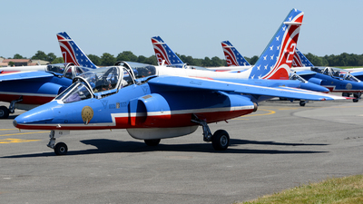 E46 - Dassault-Breguet-Dornier Alpha Jet E - France - Air Force