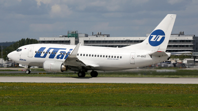 VP-BVZ - Boeing 737-524 - UTair Aviation