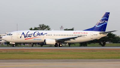HS-NGD - Boeing 737-4Q3 - NewGen Airways