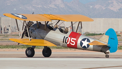 N4777V - Boeing A75N1 Stearman - Private