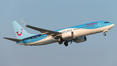 G-TAWJ - Boeing 737-8K5 - Thomson Airways