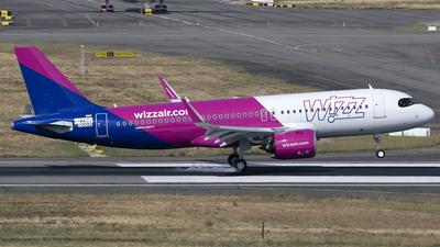 F-WWBG - Airbus A320-271N - Wizz Air