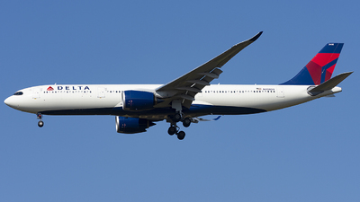 A picture of N408DX - Airbus A330941 - Delta Air Lines - © Daniel Veronesi - RomeAviationSpotters
