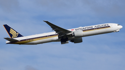 A picture of 9VSWL - Boeing 777312(ER) - Singapore Airlines - © MilanWitham
