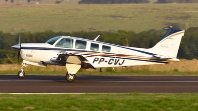 PP-CVJ - Beechcraft A36 Bonanza - Private