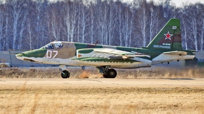 RF-29169 - Sukhoi Su-25SM Frogfoot - Russia - Air Force