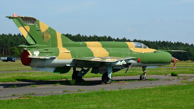 596 - Mikoyan-Gurevich MiG-21M Fishbed J - German Democratic Republic - Air Force