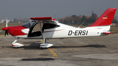 D-ERSI - Tecnam P92 Echo MkII - Private