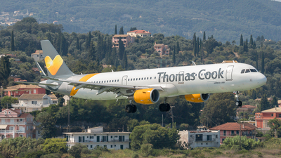 G-TCDK - Airbus A321-211 - Thomas Cook Airlines