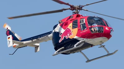 D-HTDM - MBB Bo105CBS-4 - Red Bull Racing Team