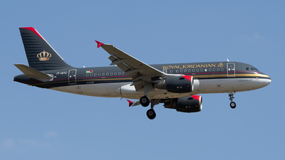 A picture of JYAYC - Airbus A319112 - Royal Jordanian - © Leandro Hdez