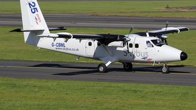A picture of GCBML - De Havilland Canada DHC6300 Twin Otter - Skybus - © Ian Howat