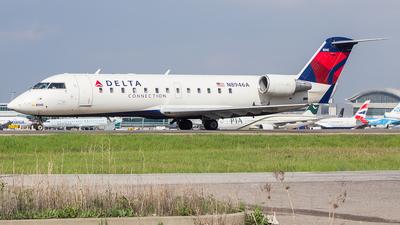A picture of N8946A - Mitsubishi CRJ200LR - Delta Air Lines - © Akib Rubaiyat