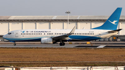 A picture of B5305 - Boeing 73785C - Xiamen Air - © Snake_ZSAM