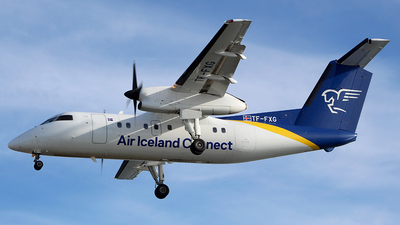 A picture of TFFXG - De Havilland Canada Dash 8200 - Icelandair - © Sveinn Th. Sigthorsson