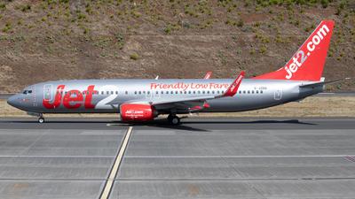 G-JZBB - Boeing 737-8MG - Jet2.com