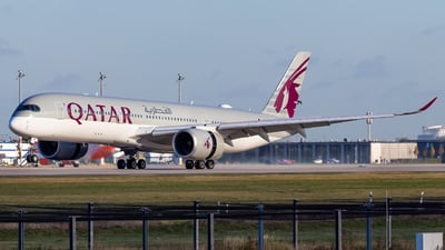 A7-AMF - Airbus A350-941 - Qatar Airways