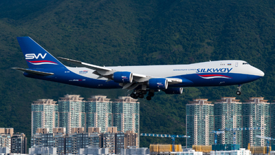 A picture of VQBVB - Boeing 74783Q(F) - Silk Way West Airlines - © Lam Yim - Skies of Pearl