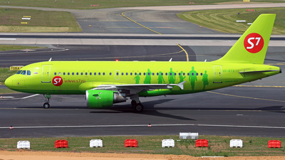 VP-BTX - Airbus A319-114 - S7 Airlines