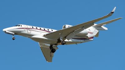 N725DT - Cessna 750 Citation X - Private