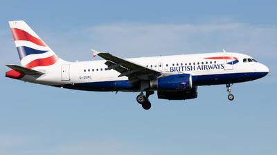 G-EUPL - Airbus A319-131 - British Airways