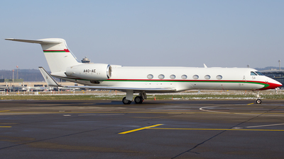 A4O-AE - Gulfstream G-V(SP) - Oman - Royal Flight