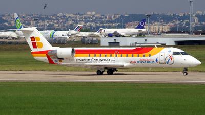 EC-INF - Bombardier CRJ-200ER - Iberia Regional (Air Nostrum)
