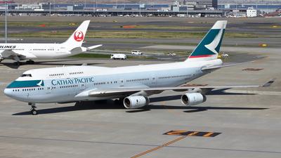 B-HUB - Boeing 747-467 - Cathay Pacific Airways