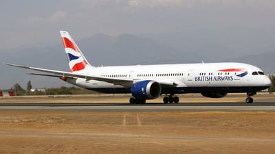 G-ZBKS - Boeing 787-9 Dreamliner - British Airways