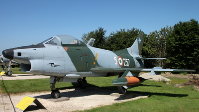 MM5257 - Fiat G91-R/3 - Italy - Air Force